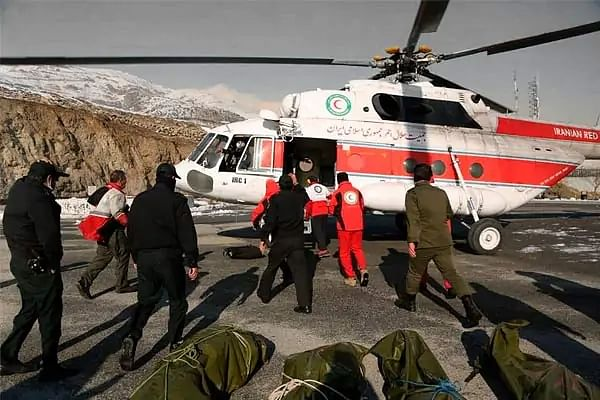 12 killed in avalanche in Tehran, Iran
