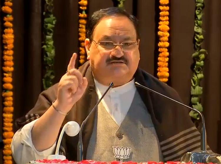 PM मोदी जी के नेतृत्व में भाजपा ने बहुत तीव्र गति से प्रगति की: जेपी नड्डा