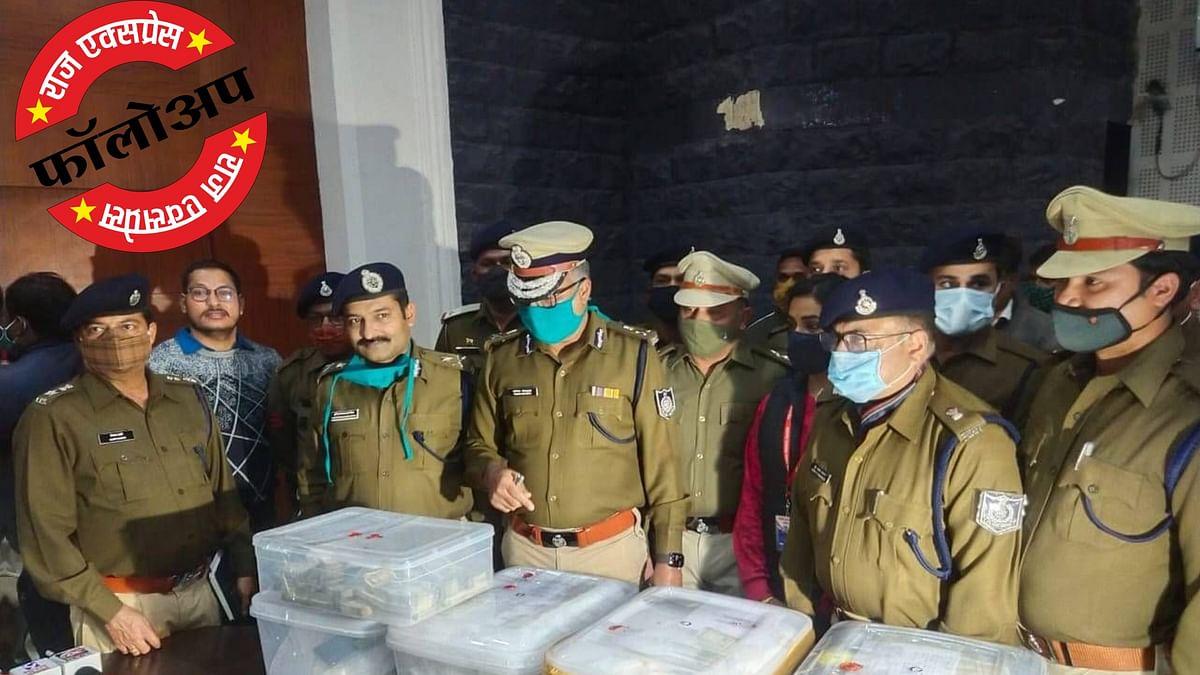 इंदौर : हैदराबाद से मिलेंगे ड्रग्स डीलर्स के सुराग