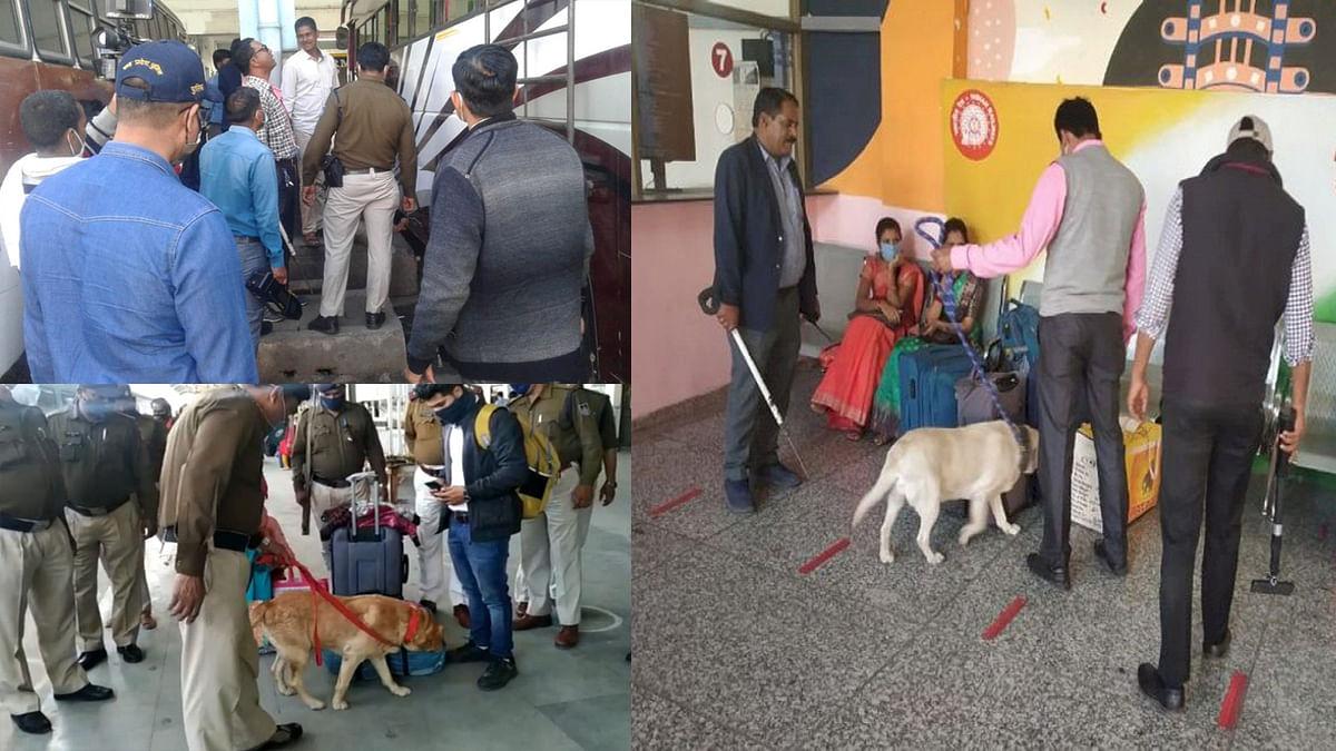 भोपाल: गणतंत्र दिवस पर कड़ी सुरक्षा, रेलवे स्टेशन से लेकर मार्केट में चेकिंग
