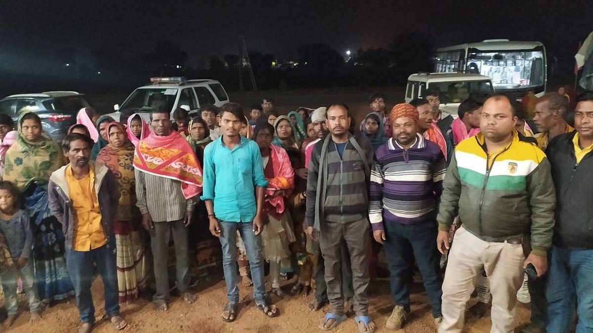 कटनी: बंधक बनाए गए श्रमिकों को छुड़ाने में मिली सफलता, 52 मजदूरों की वापसी