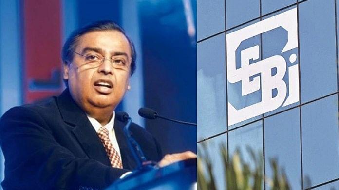 सेबी ने मुकेश अंबानी और रिलायंस पर 40 करोड़ रुपए का जुर्माना लगाया