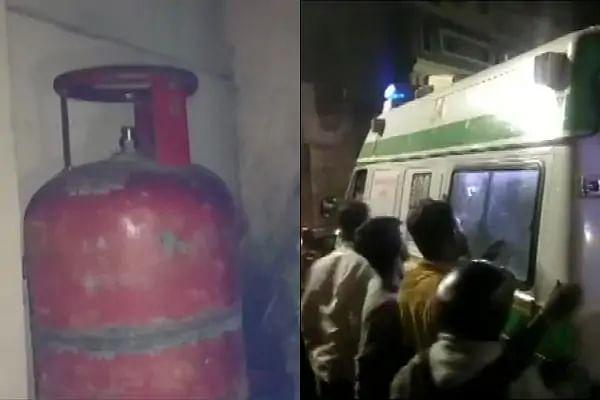 तेलंगाना : हैदराबाद में पुलिस स्टेशन के पास गैस सिलेंडर फटने से 13 घायल