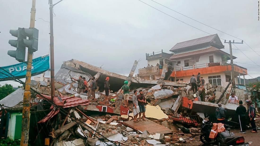 इंडोनेशिया के सुलावेसी प्रांत में तेज भूकंप से काफी नुकसान- अस्पताल ध्वस्त