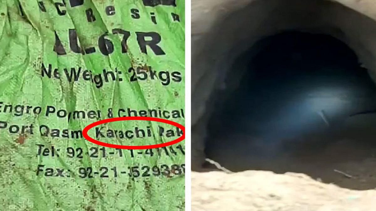 जम्मू कश्मीर के कठुआ में पाक की साजिश का खुलासा- मिली 115 मीटर लंबी सुरंग