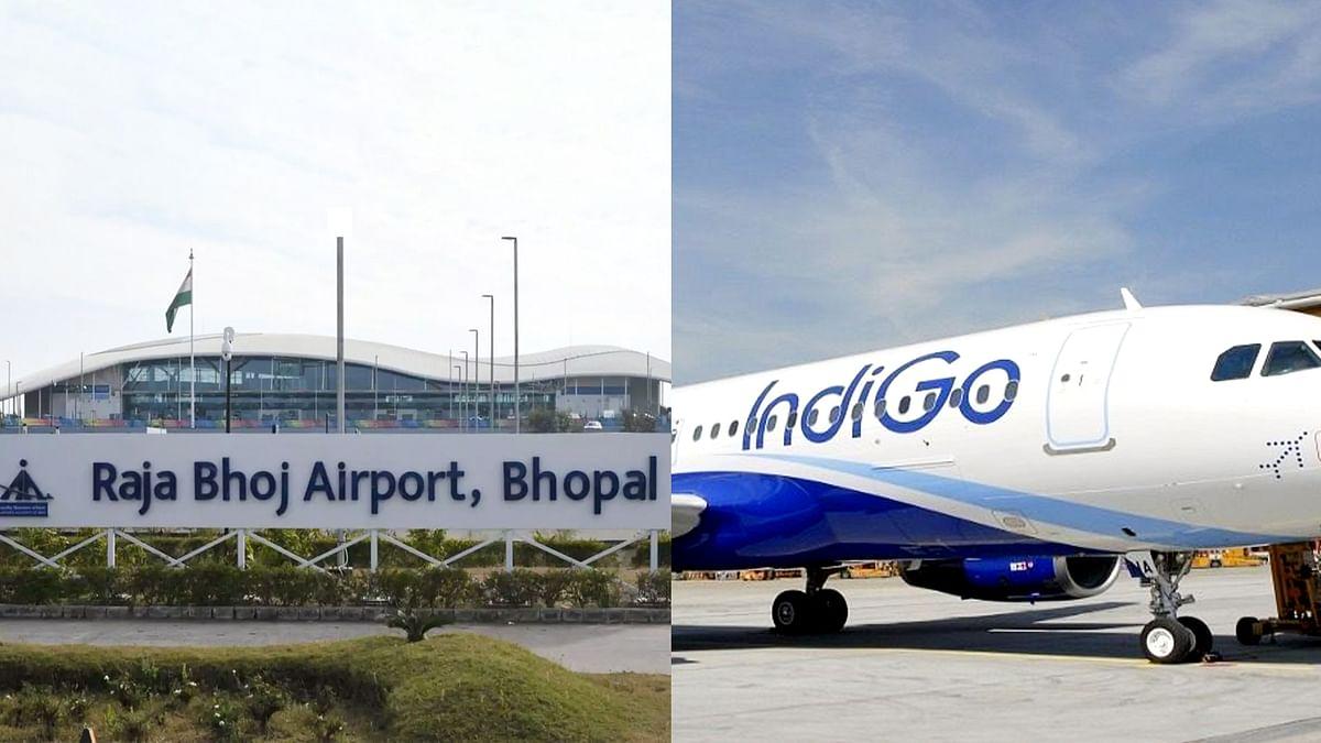 भोपाल: राजा भोज एयरपोर्ट पर फ्लाइट की हुई इमरजेंसी लैंडिंग, सामने आई ये वजह