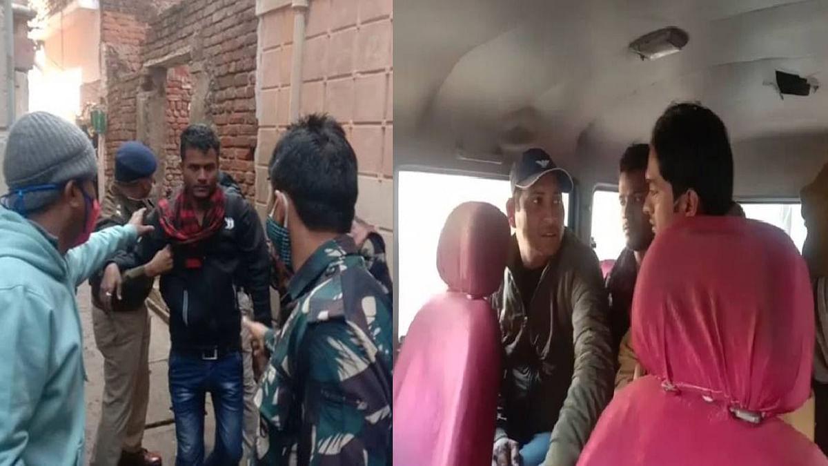 ग्वालियर: सराफा बाजार में पुलिस ने आंसू गैस के गोले छोड़कर बदमाशों को दबोचा