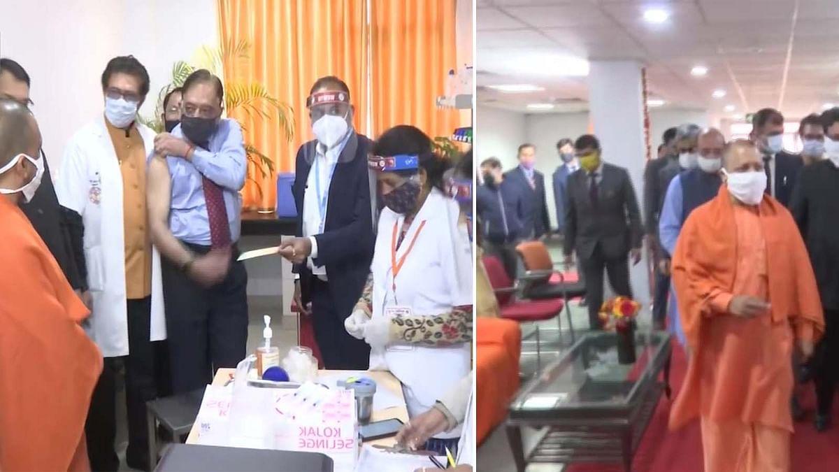 UP: CM योगी का दावा-बलरामपुर अस्पताल में 102 हेल्थ वर्कर्स को लगेगी वैक्सीन