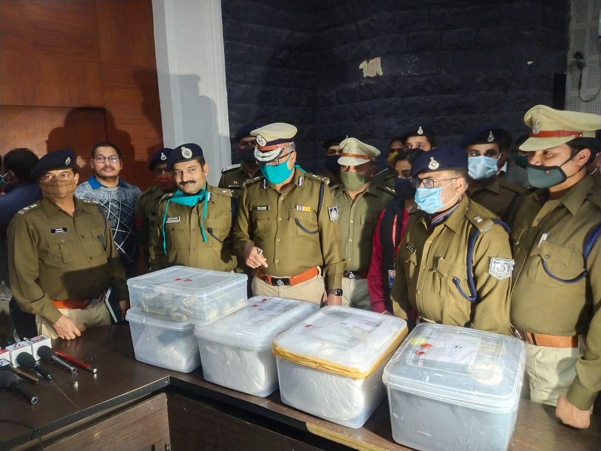 हैदराबाद से लाया गया 70 करोड़ का ड्रग्स, इंदौर में पकड़ाया