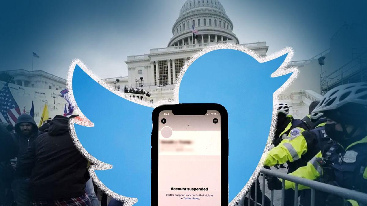 ट्विटर ने बंद किए 70,000 से ज्यादा यूजर्स के अकाउंट, कैपिटल हिंसा बनी वजह
