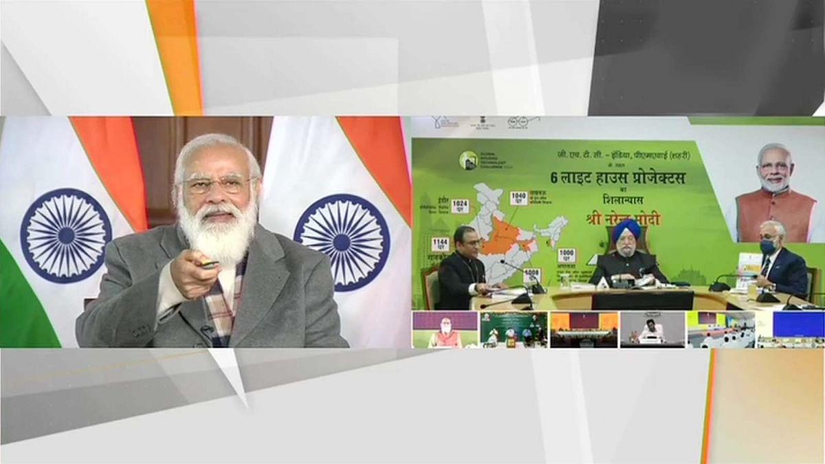 नए साल पर 6 राज्यों को PM मोदी का गिफ्ट- LHP की रखी आधारशिला