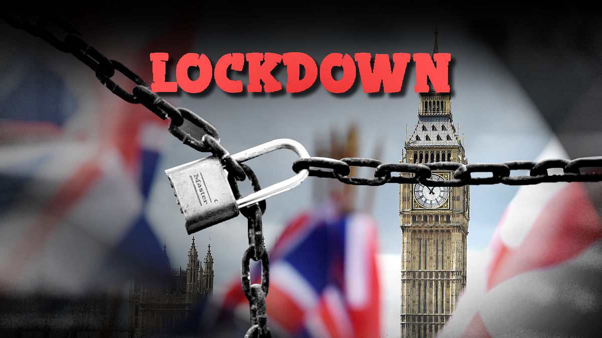 Lockdown implemented in UK