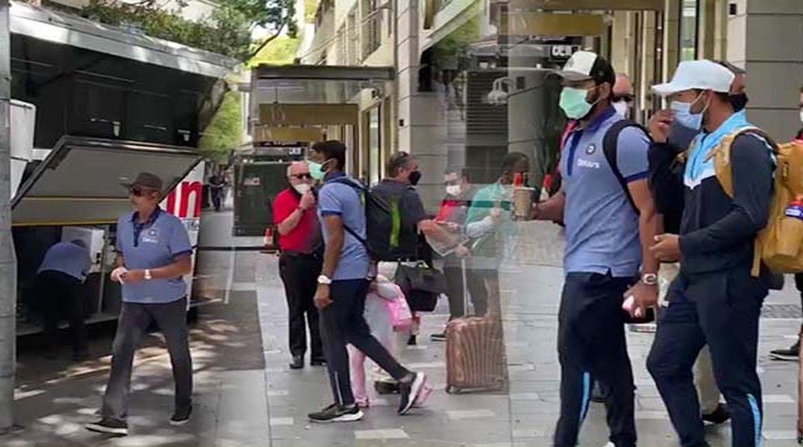 ब्रिस्बेन होटल में पहुंचते ही टीम इंडिया परेशानी में