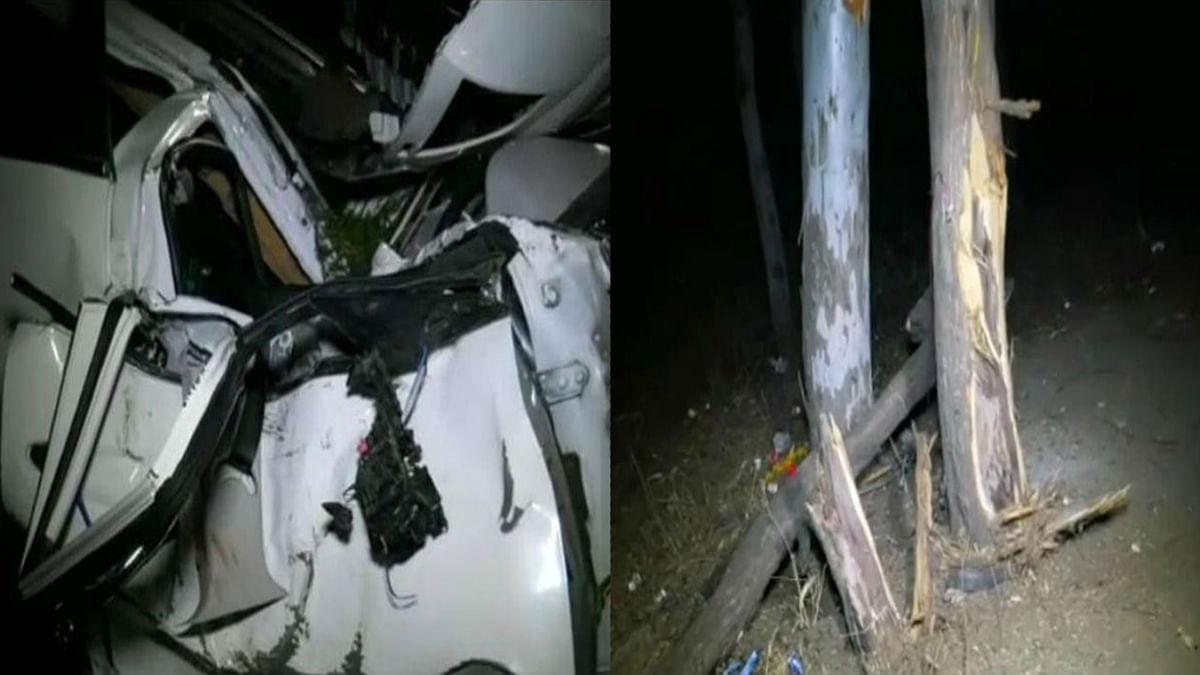 इंदौर : एक बार फिर तेज रफ्तार का बरपा कहर, अनियंत्रित होकर पेड़ में घुसी कार