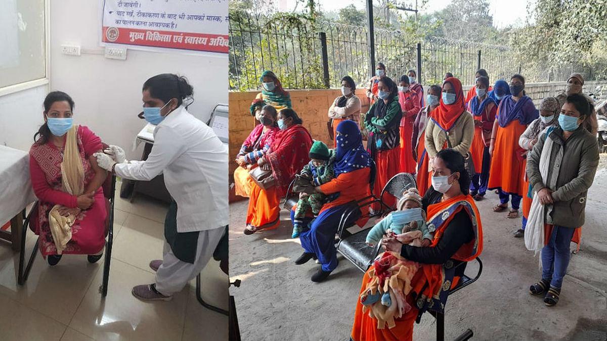 MP कोरोना वैक्सीनेशन के लिए तैयार, भोपाल के 3 केंद्रों में ड्राय रन शुरू