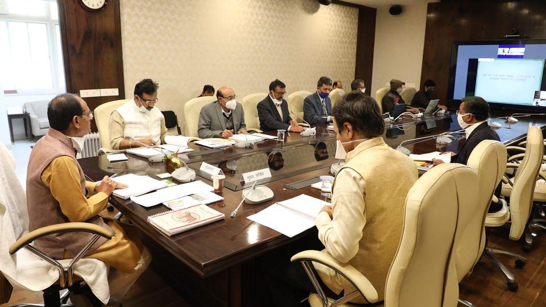 """सीएम चौहान ने उच्च अधिकारियों के साथ की """"MP राज्य वन्यप्राणी बोर्ड"""" की बैठक"""