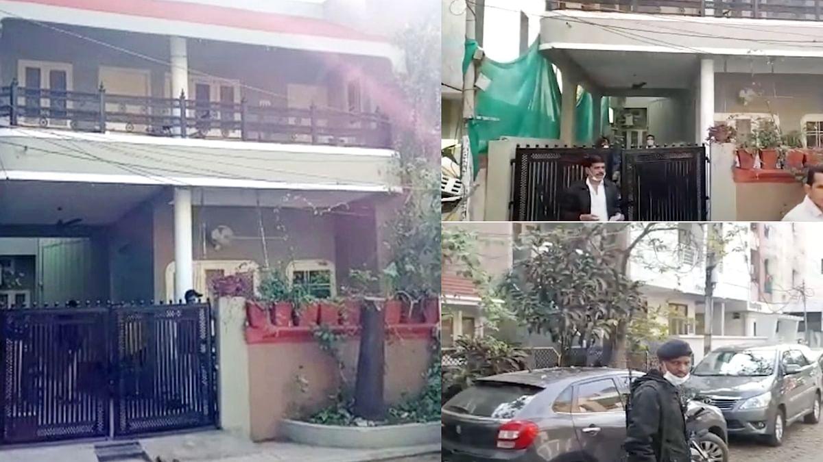 इंदौर: आयकर विभाग की बड़ी कार्रवाई, बिल्डर  अनिल धाकड़ के घर पर मारा छापा
