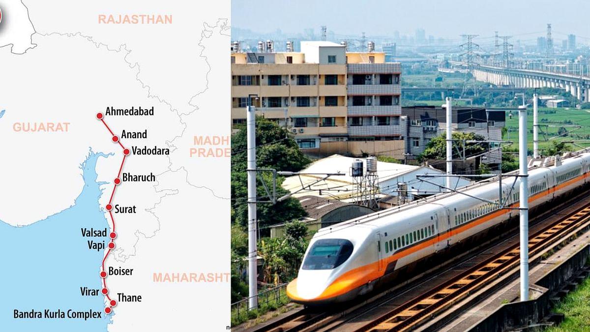 मुंबई-अहमदाबाद हाई स्पीड रेल कॉरिडोर तैयार करने 7 भारतीय कंपनियां इच्छुक