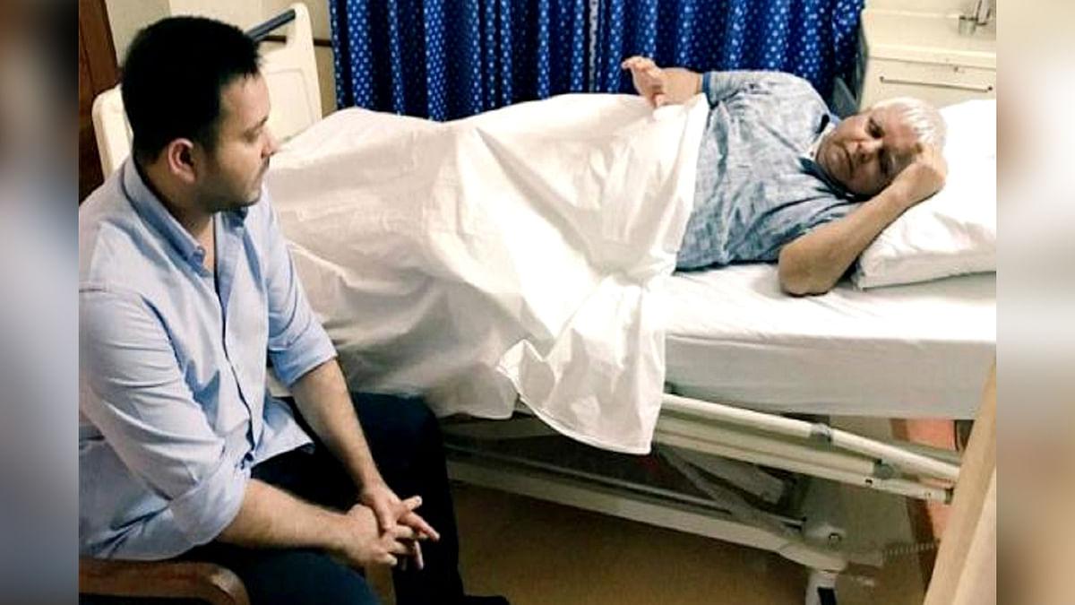 लालू प्रसाद यादव की तबीयत अचानक बिगड़ी, रिम्स अस्पताल में भर्ती