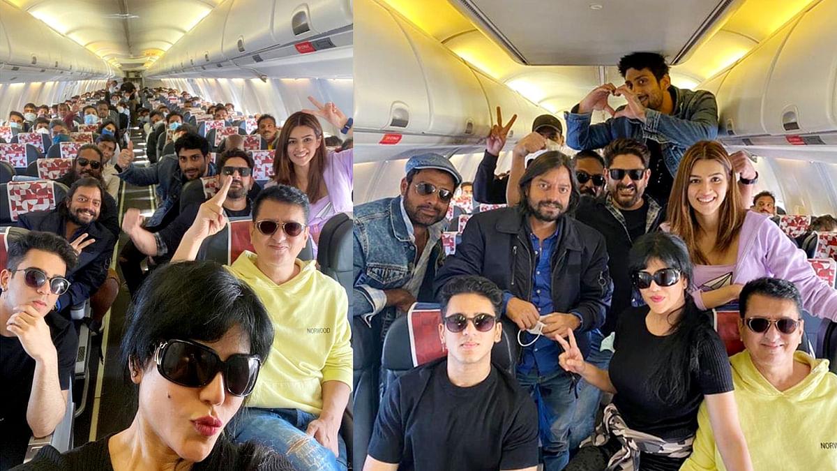 'बच्चन पांडे' की शूटिंग के लिए टीम पहुंची जैसलमेर, सामने आई तस्वीर