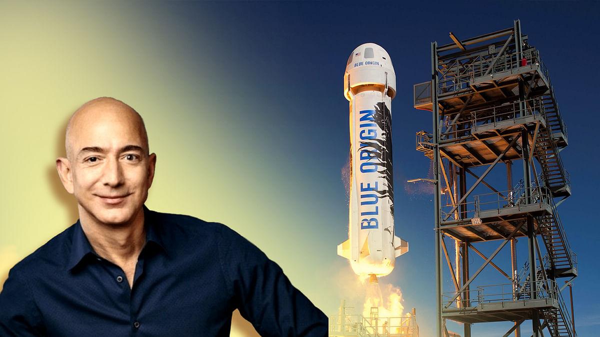 बेजोस की कंपनी अप्रैल में पेश करेगी स्पेसक्रॉफ्ट