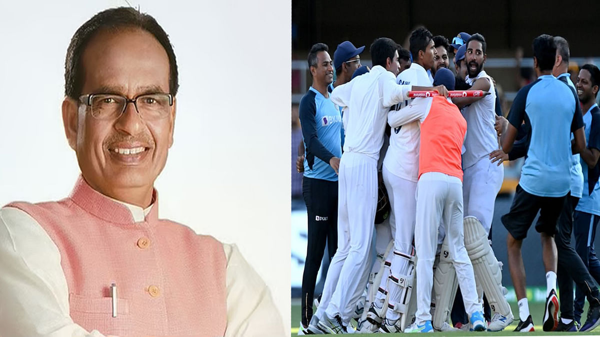 मुख्यमंत्री शिवराज ने भारत की क्रिकेट टीम को दी जीत की बधाई, कही ये बात