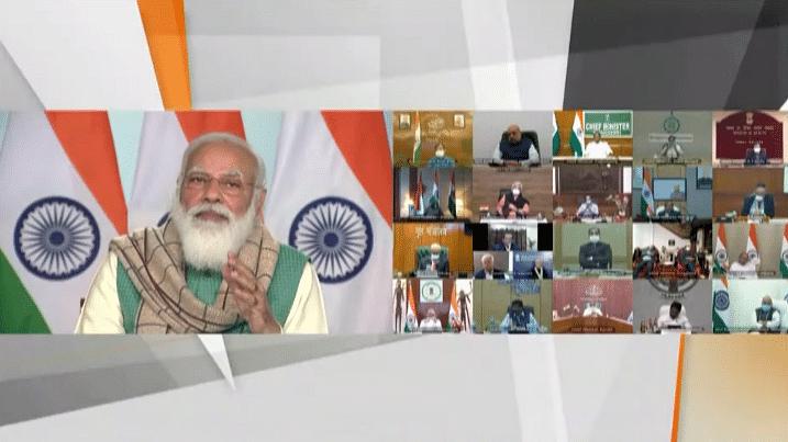 CM के साथ PM की बैठक, बोले- 16 से दुनिया का सबसे बड़ा टीकाकरण अभियान शुरू