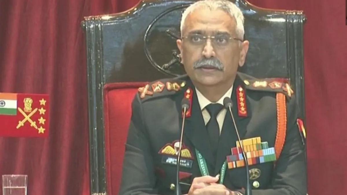 आर्मी चीफ जनरल का पाकिस्तान और चीन के खतरे को लेकर बड़ा बयान