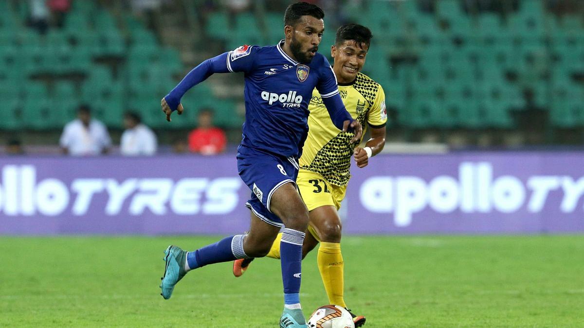 ISL 2020-21 : हैदराबाद ने चेन्नई को 4-1 से हराया