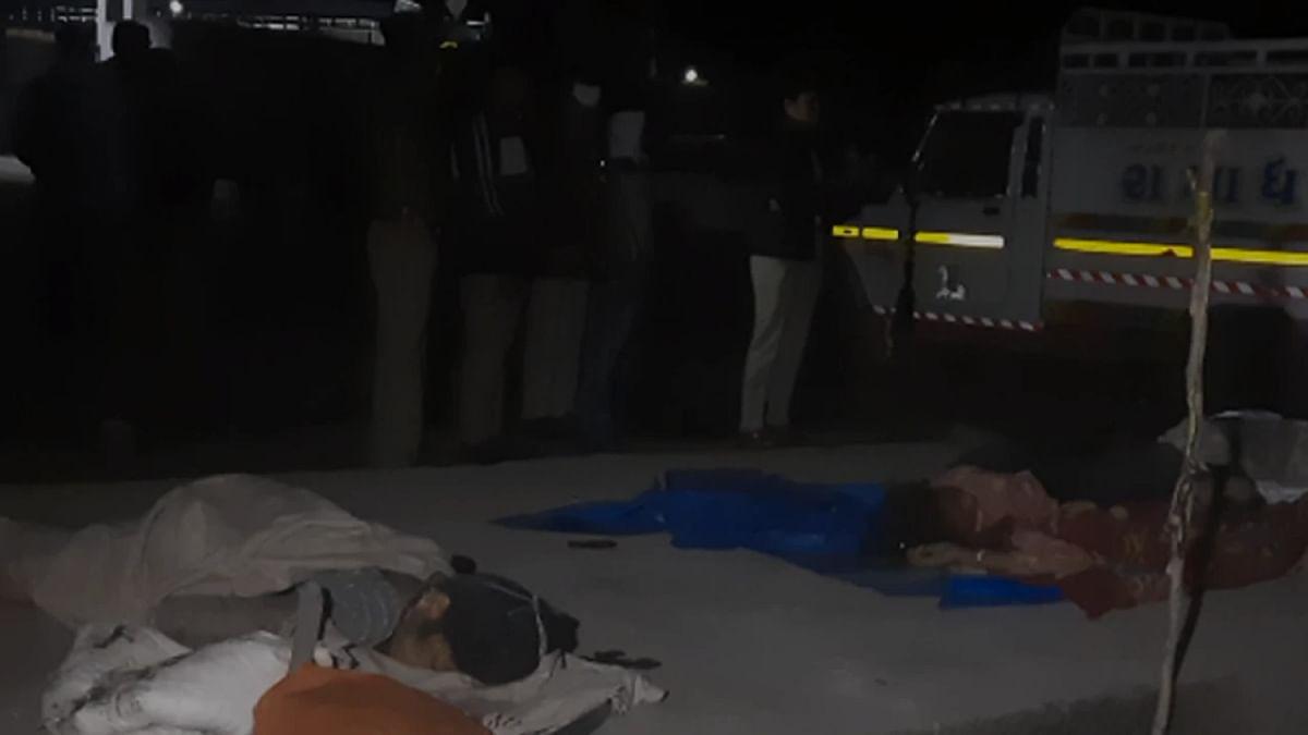 गुजरात के सूरत में फुटपाथ पर सो रहे मजदूरों को ट्रक ने कुचला