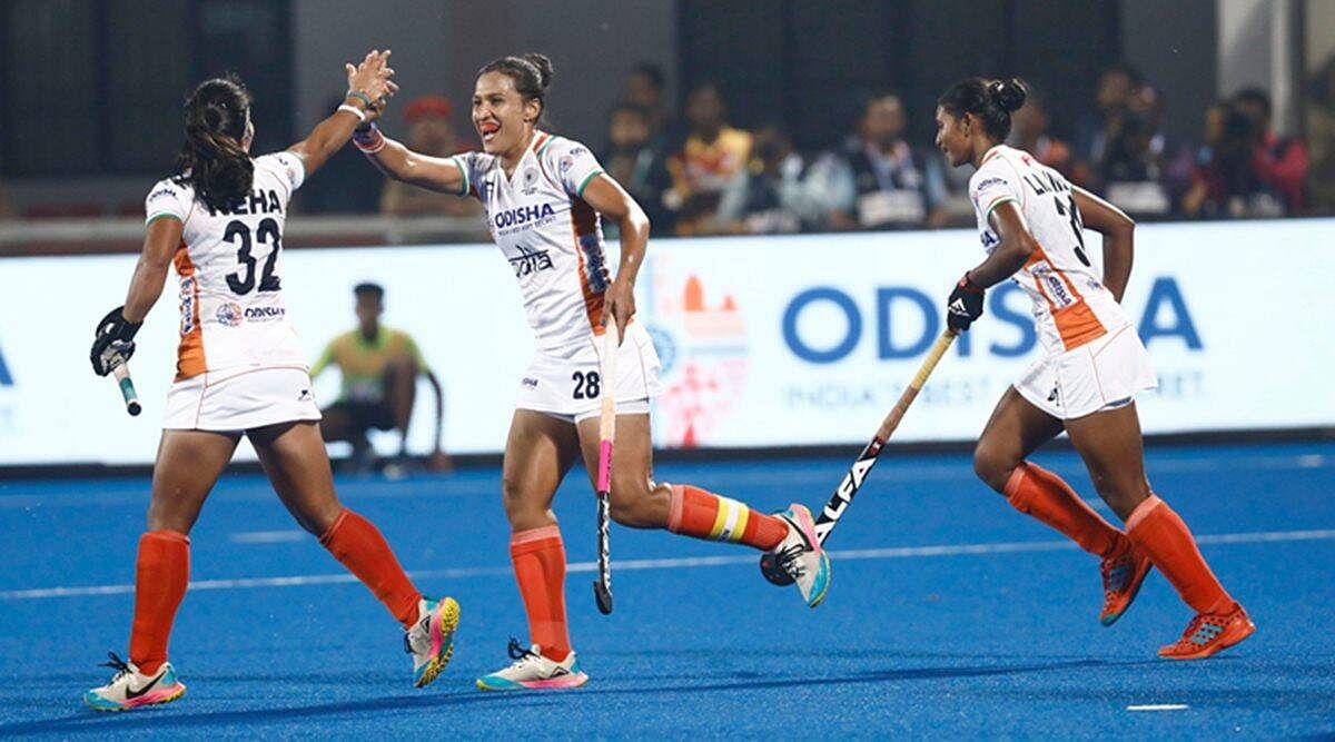 भारतीय महिला टीम ने अर्जेंटीना के साथ 1-1 से ड्रॉ खेला