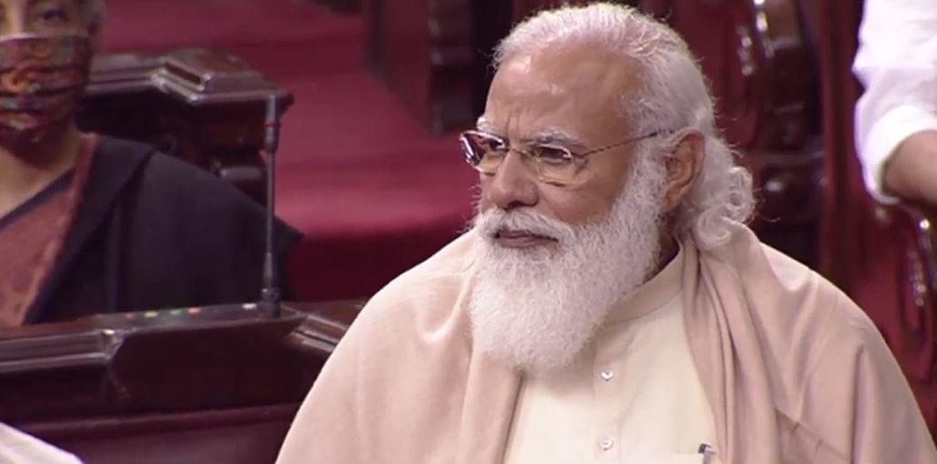 राज्यसभा में कांग्रेस नेता के एक फोन कॉल को याद कर PM मोदी के छलके आंसू
