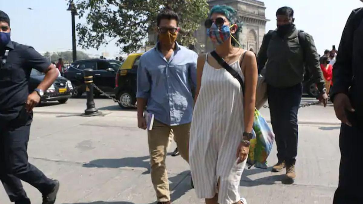 शूटिंग से वक्त निकालकर फैमिली संग गेटवे ऑफ इंडिया पहुंचे आमिर खान