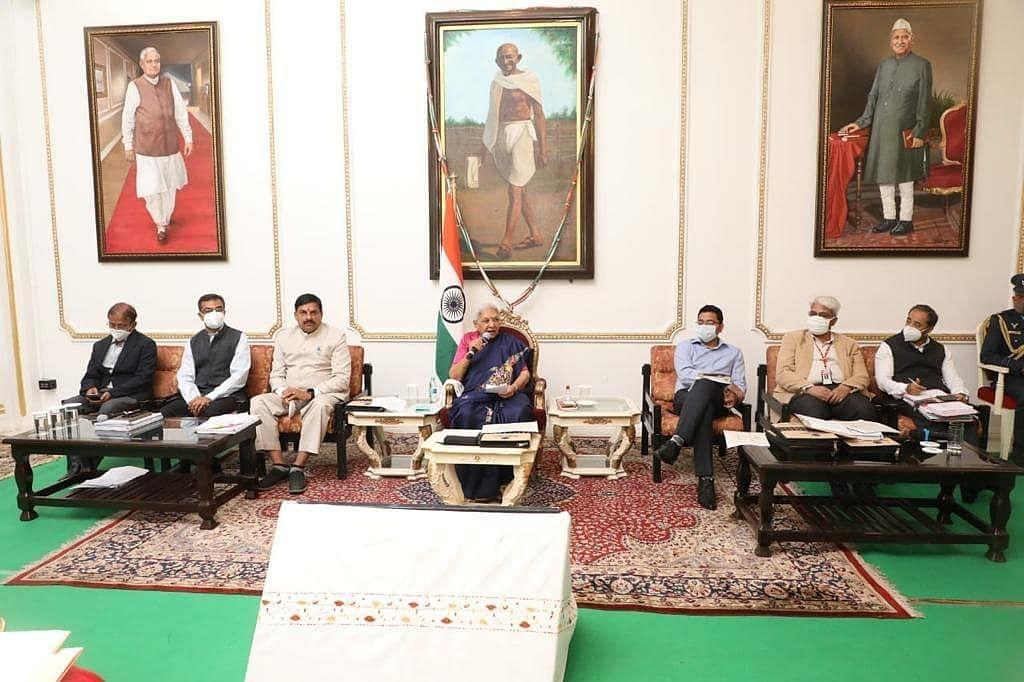 भोपाल: राज्यपाल ने 98वीं विश्वविद्यालय समन्वय समिति की बैठक को संबोधित किया