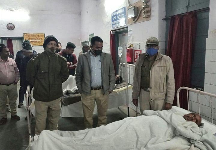 पन्ना : वन विभाग की टीम पर सागौन तस्करों ने किया जानलेवा हमला