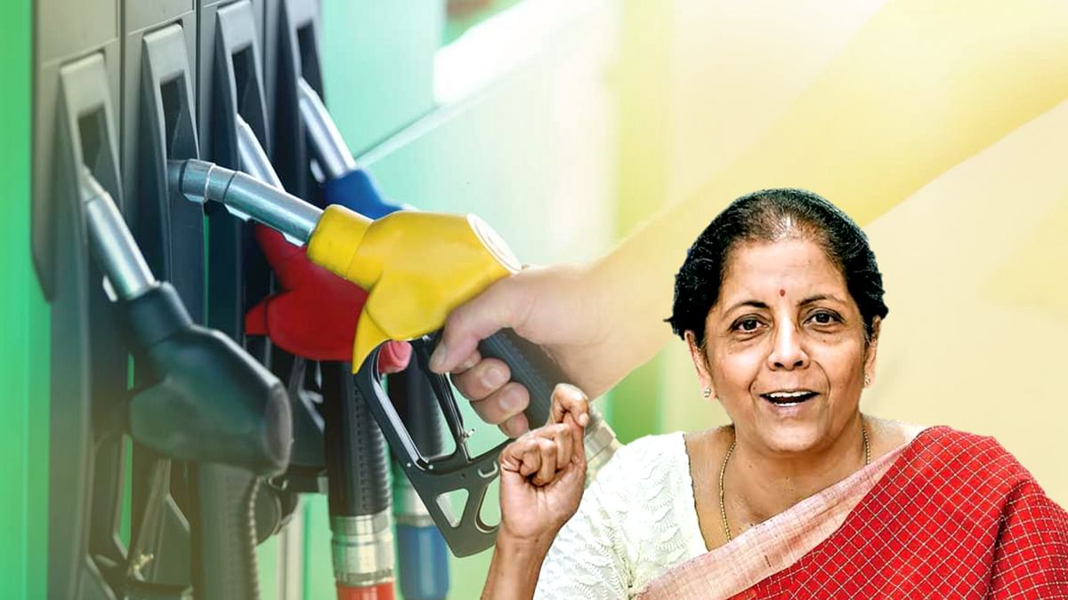 वित्त मंत्री सीतारमण ने पेट्रोल की कीमतों पर अफसोस जताते हुए दिया बड़ा बयान