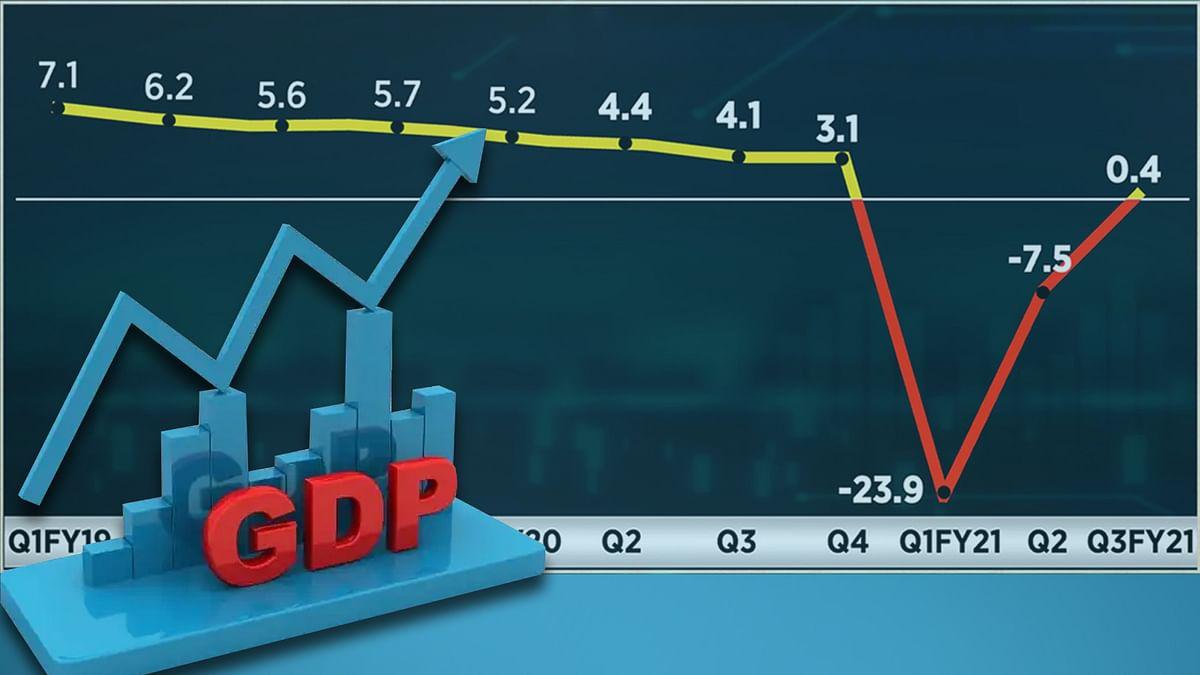 देशवासियों के लिए खुशखबरी : GDP के आंकड़ों में देखने मिली थोड़ी तेजी