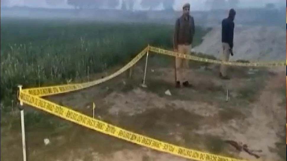 उत्तर प्रदेश के कासगंज में पुलिस पर जानलेवा हमला, मुठभेड़ में ढेर हुआ आरोपी