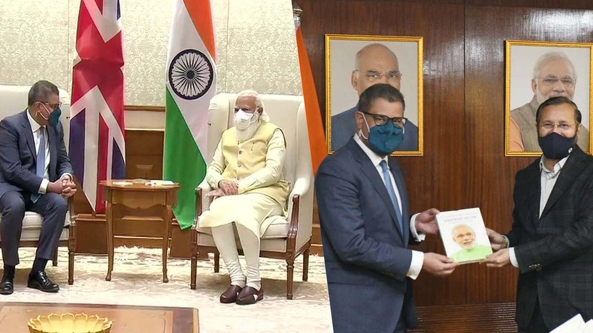 PM मोदी और जावड़ेकर से मिले आलोक शर्मा- इस खास मुद्दे पर हुई चर्चा