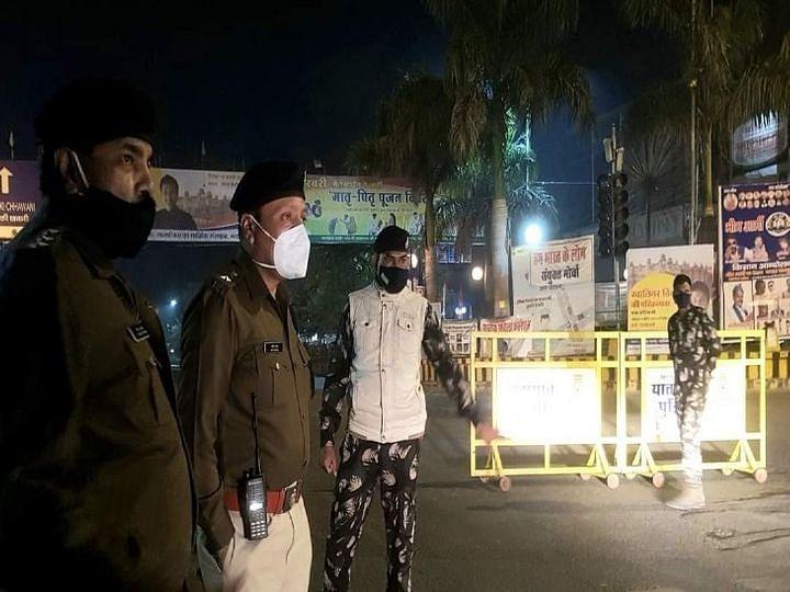ग्वालियर : पत्थरबाजी की घटनाओं को रोकने रात में एसपी उतरे सड़कों पर