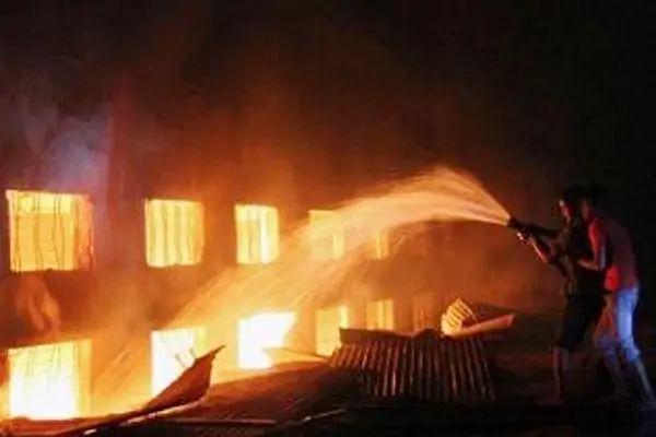 हरियाणा: करनाल की पटाखा फैक्ट्री में धमाके के बाद मचा आग का तांडव, 3 की मौत