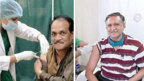 इंदौर : जिनके नाम सूची में नहीं आए थे, उन्हें भी लगा वैक्सीन