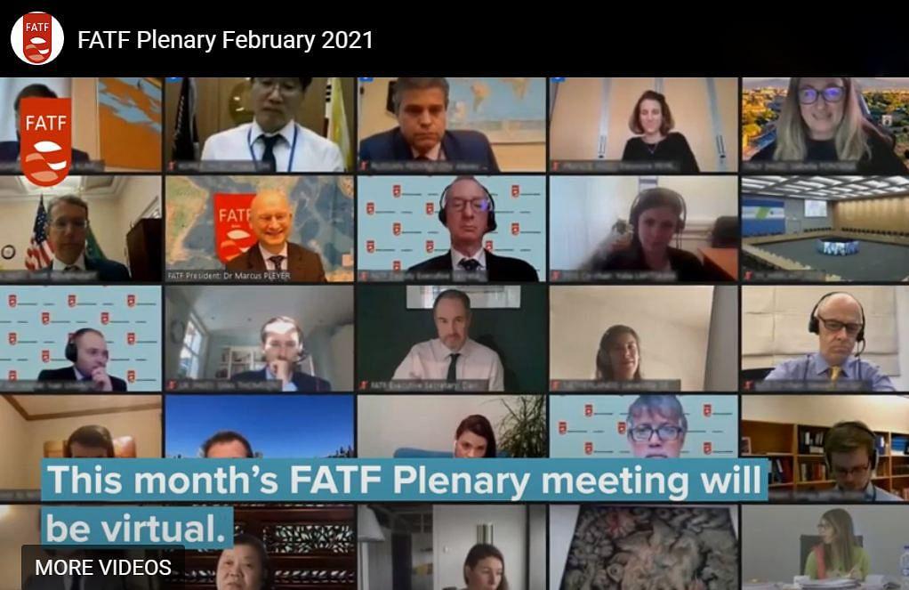 FATF की वर्चुअल मीटिंग। फाईल