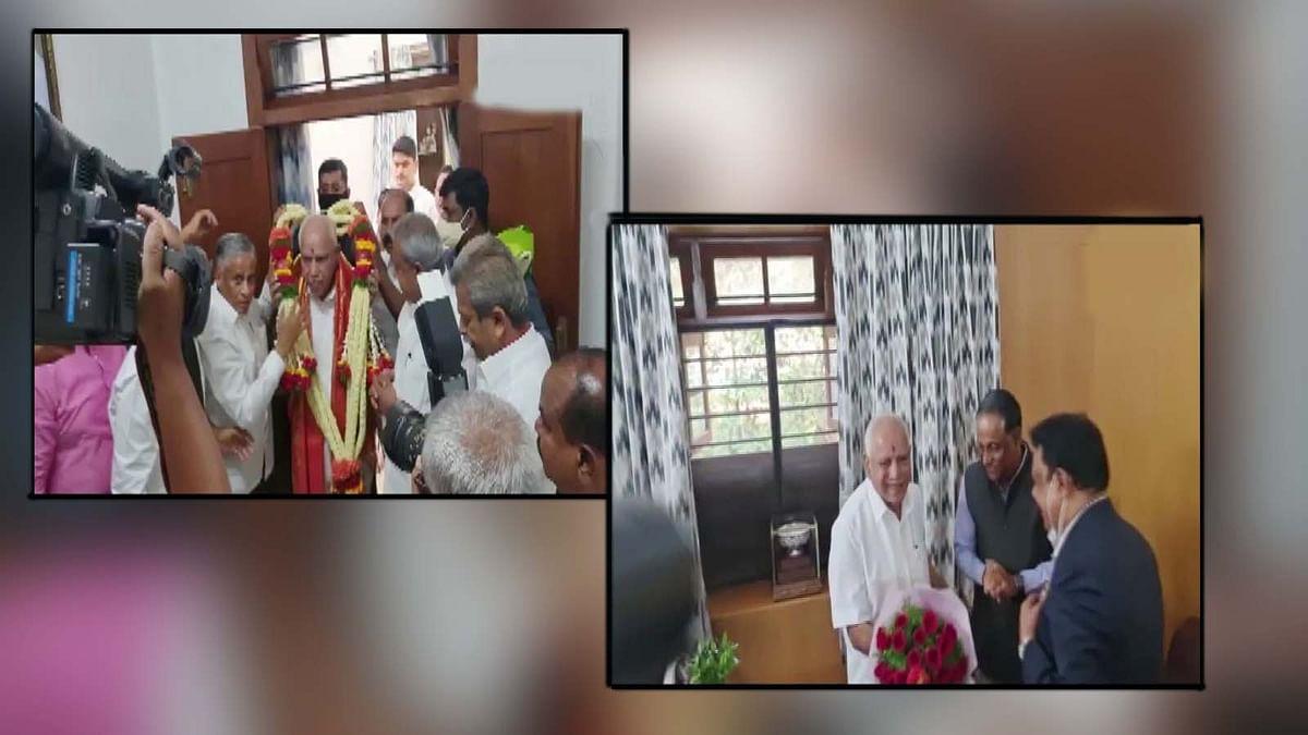 कर्नाटक के CM बीएस. येदियुरप्पा का जन्मदिन- बधाईयों का लगा तांता