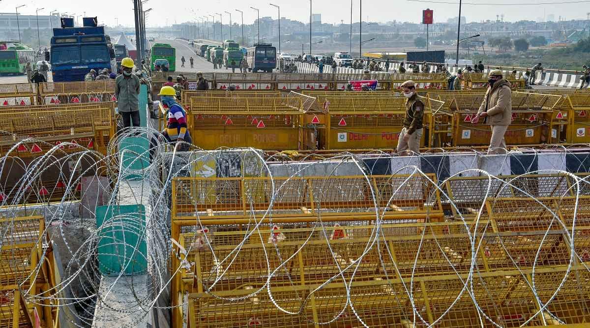 किसान संगठनों का देशव्यापी चक्का जाम- बढ़ी पुलिस चौकासी