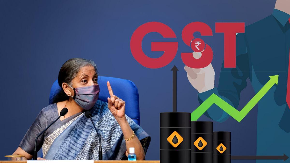 पेट्रोल, डीजल GST में लाने से ईंधन की कीमत कम करने में मदद मिलेगी : सीतारमण