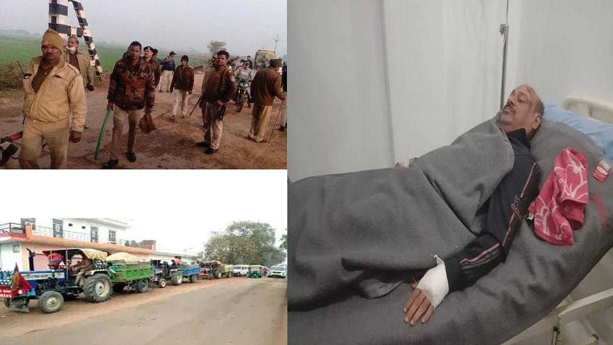 ग्वालियर: रेत माफियाओं ने पुलिस टीम पर किया हमला, टीआई घायल