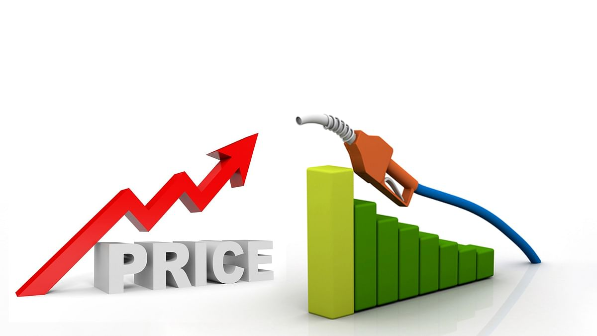 लगातार तीसरे दिन पेट्रोल-डीजल की कीमत बढ़ने से वाहन चालक परेशान