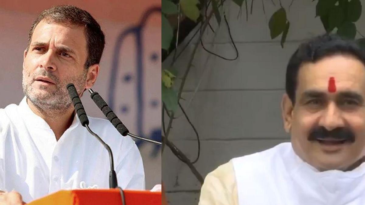 मंत्री मिश्रा ने मुहावरों के जरिए कांग्रेस नेता राहुल गांधी पर साधा निशाना