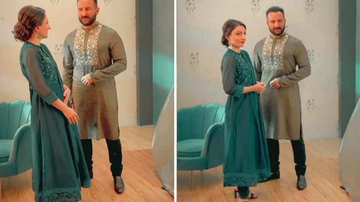 सैफ अली खान ने बहन सोहा के साथ कराया फोटोशूट, वायरल हुआ वीडियो